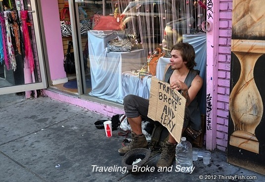 Traveling, Broke and Sexy